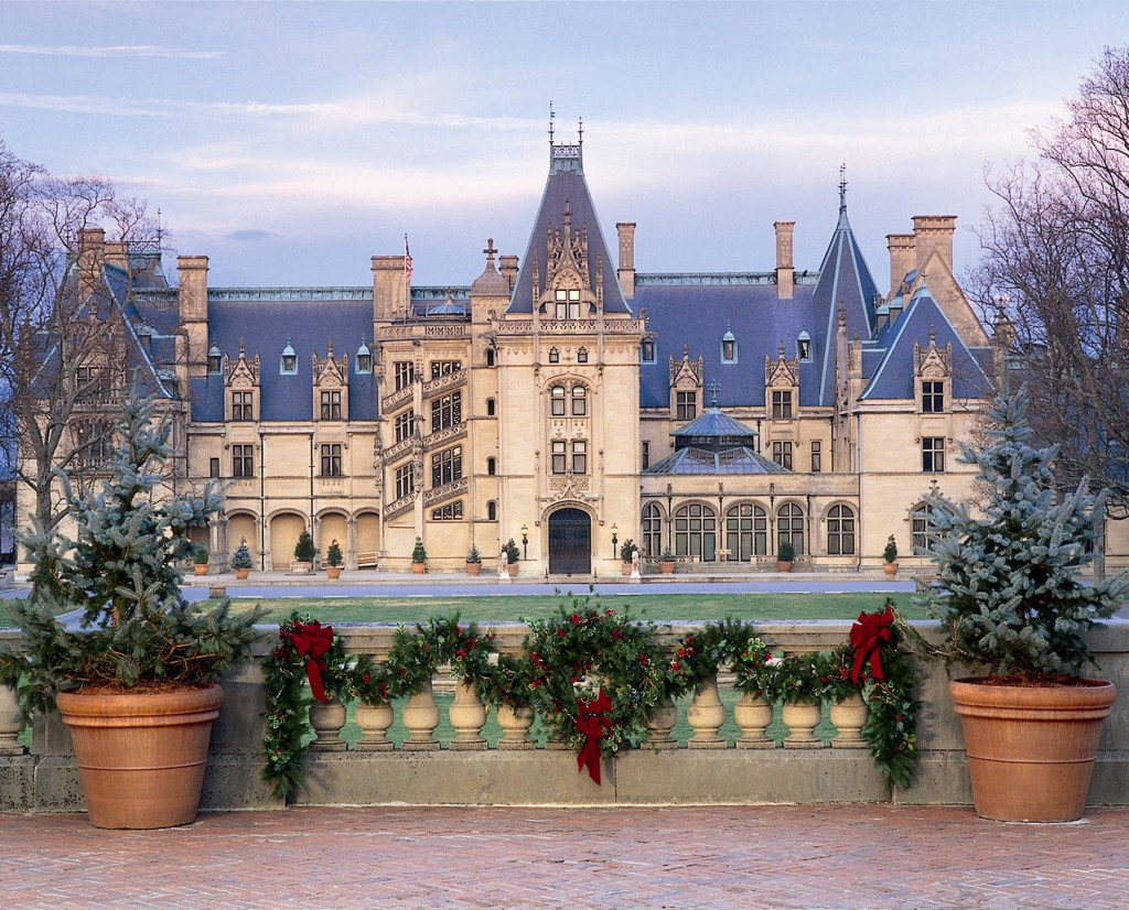Holidays at the Biltmore Estate in Asheville, NC