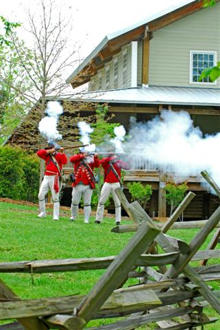 The Revolutionary War Comes Alive at Musgrove Mill