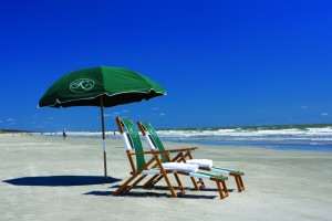 The beach on Kiawah Island