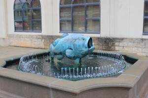 Fish art in Anderson