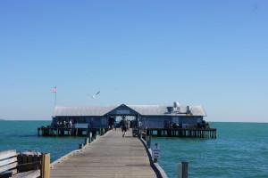 Pier at Anna Marie Island