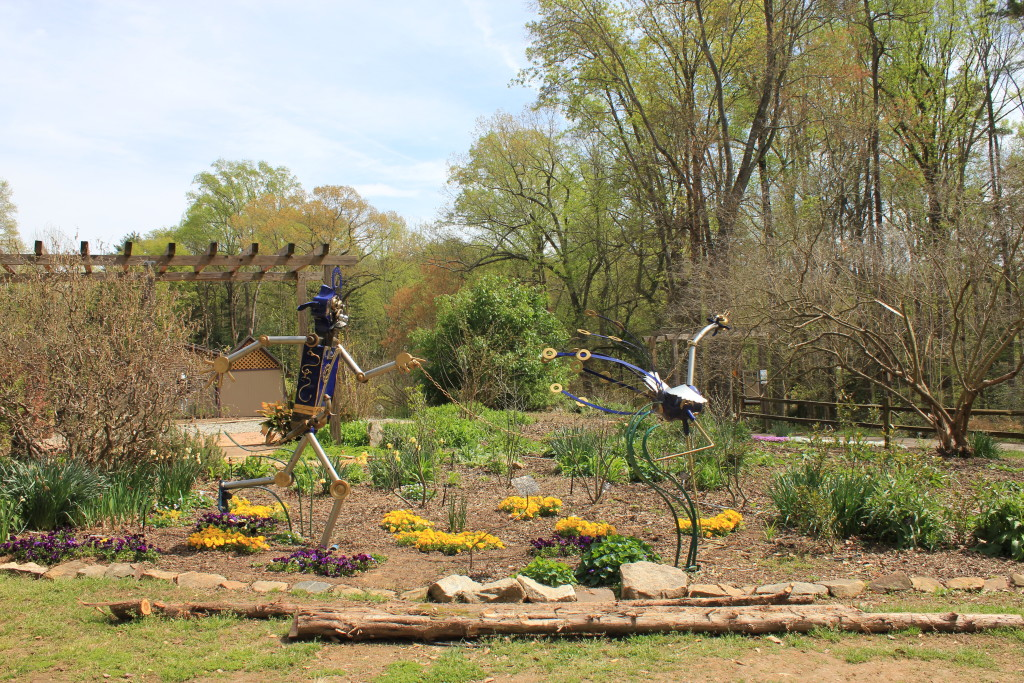 Nature Culture Merge At The South Carolina Botanical Garden See The South