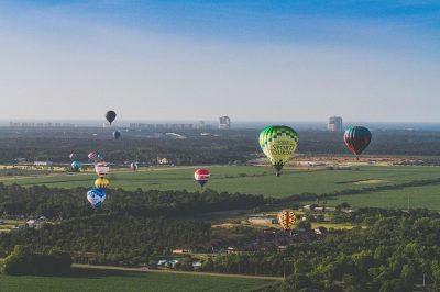 Balloons Soar over Baldwin County, Alabama