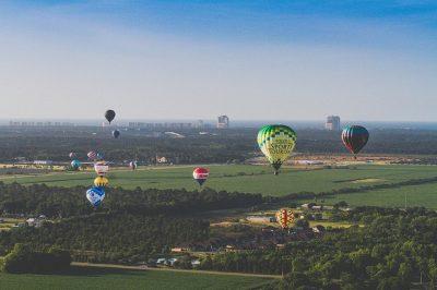 Balloons Soar over Baldwin County, Alabama
