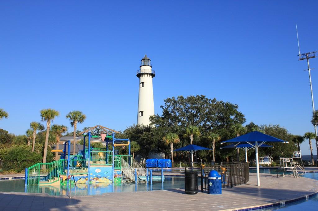 Ocean Front Park on St. Simon's Island
