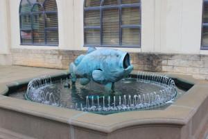 Fish art in Anderson
