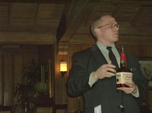 Danny discusses bourbon