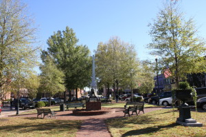 Abbeville town square